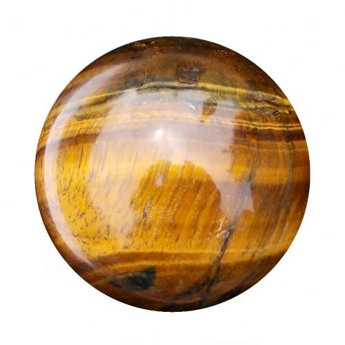Tiger Eye Fortune Telling Crystal Ball Gemstone Sphere for Meditation 61mm 320g (TE18)